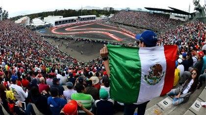 Los motores de F1 regresarán al Autódromo Hermanos Rodríguez el próximo 31 de octubre de 2021 (Foto: Infobae)