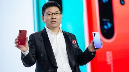 Richard Yu, CEO de Huawei (Bloomberg)