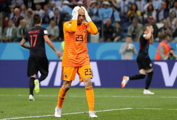 Willy Caballero (REUTERS)