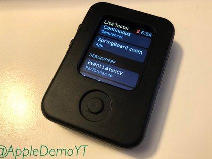 """La aplicación """"Springboard zoom"""" (ubicada en Lisa Tester) muestra una representación interactiva de la pantalla de inicio"""