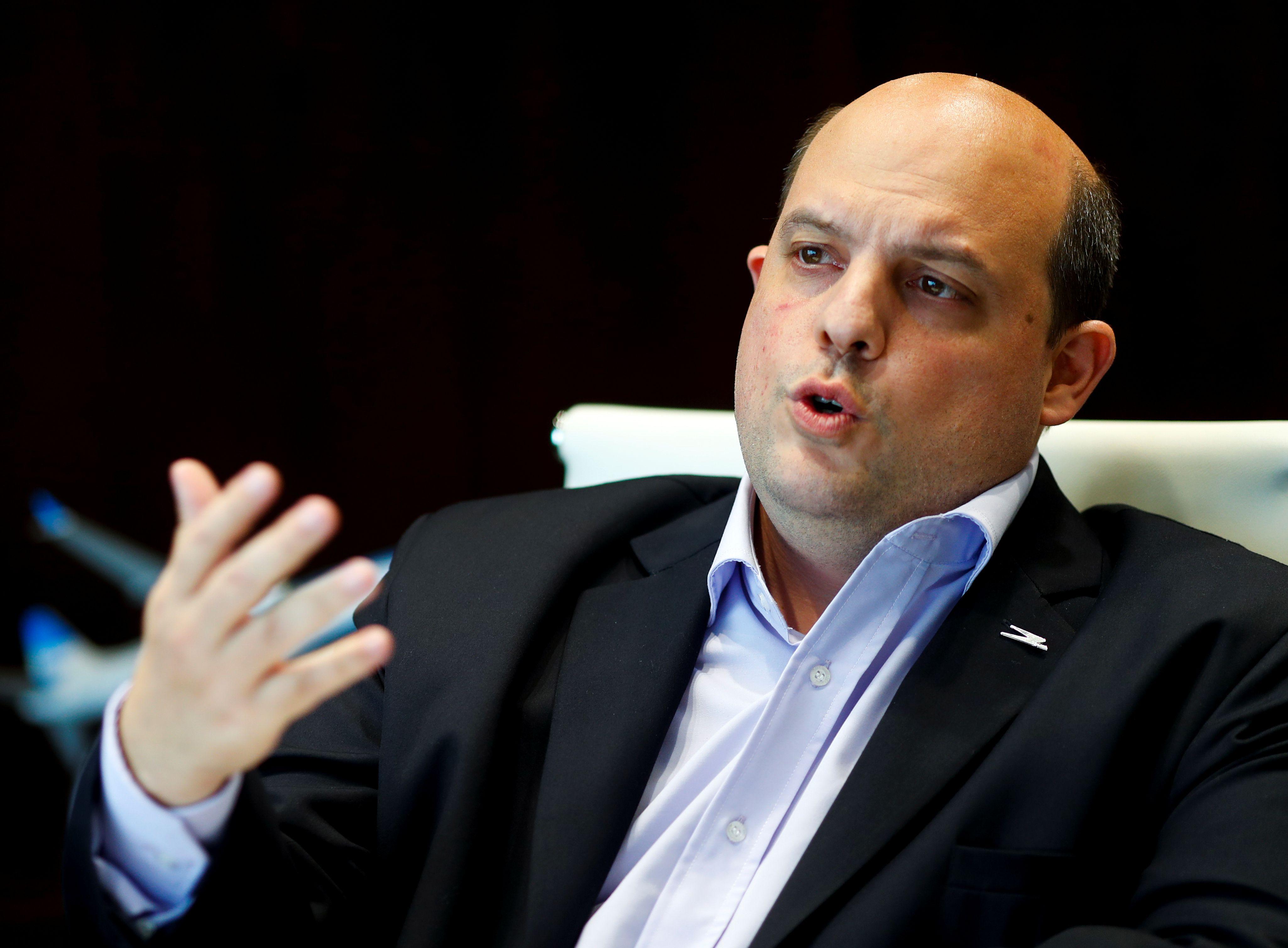 Pablo Ceriani, presidente de Aerolíneas Argentinas (REUTERS/Agustin Marcarian)