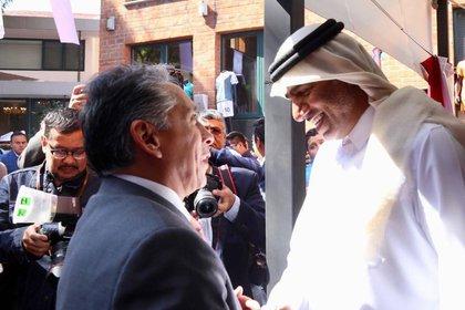 Manuel Negrete espera que el Mundial de Qatar 2022 se lleve acabo en tierras árabes (Foto: @Alcaldia_Coy)