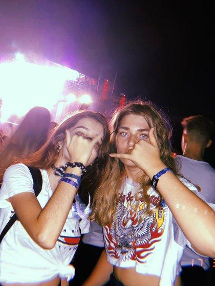Martita en Lolla. (Foto Instagram)