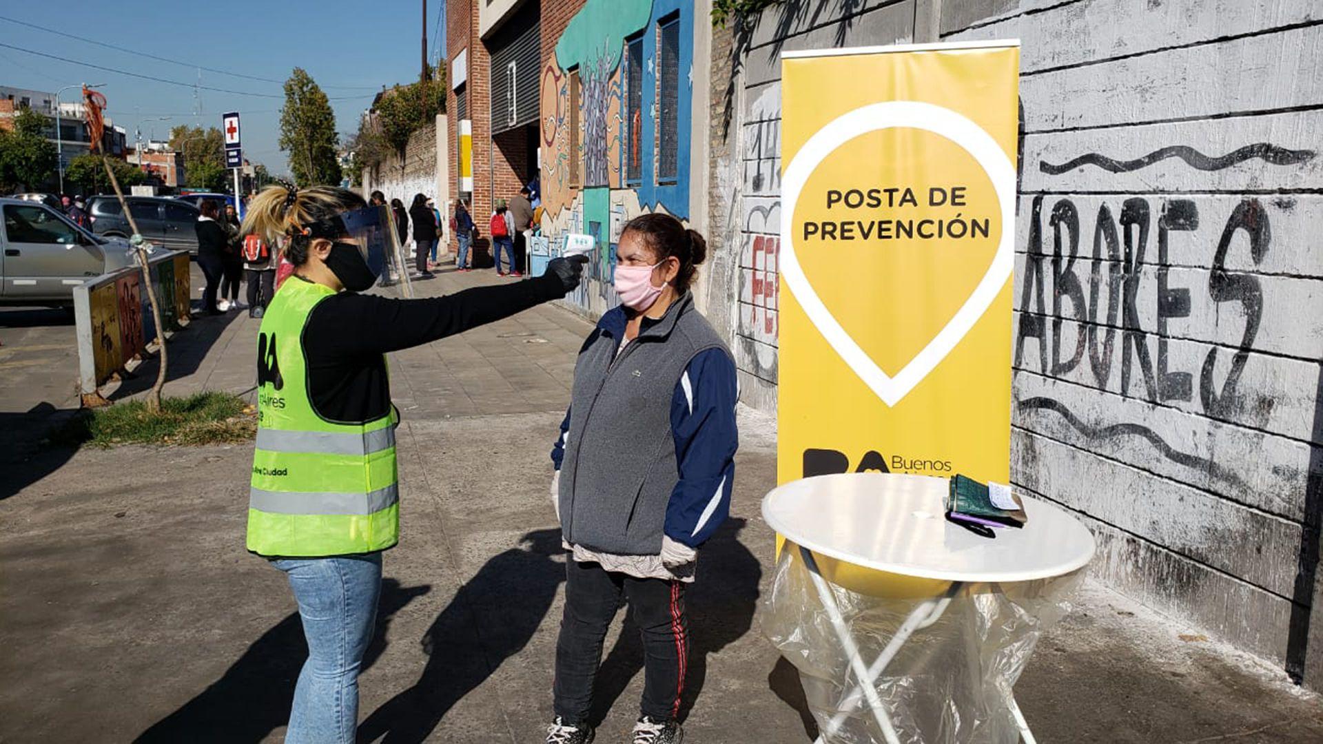 Las postas de prevención del Gobierno de la Ciudad.