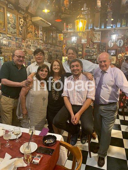 Moreau, Zannini, Topo Devoto, Teresa García, Alicia Castro, Máximo Kirchner y Parrilli