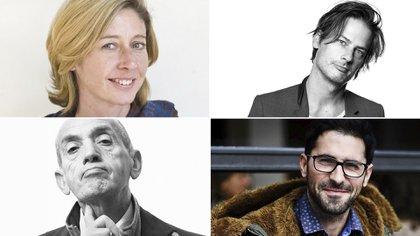 Christina Lamb, Sacha Batthyany, Domenico Quirico y Agus Morales