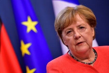 Angela Merkel (Foto: John Thys/Pool via REUTERS)