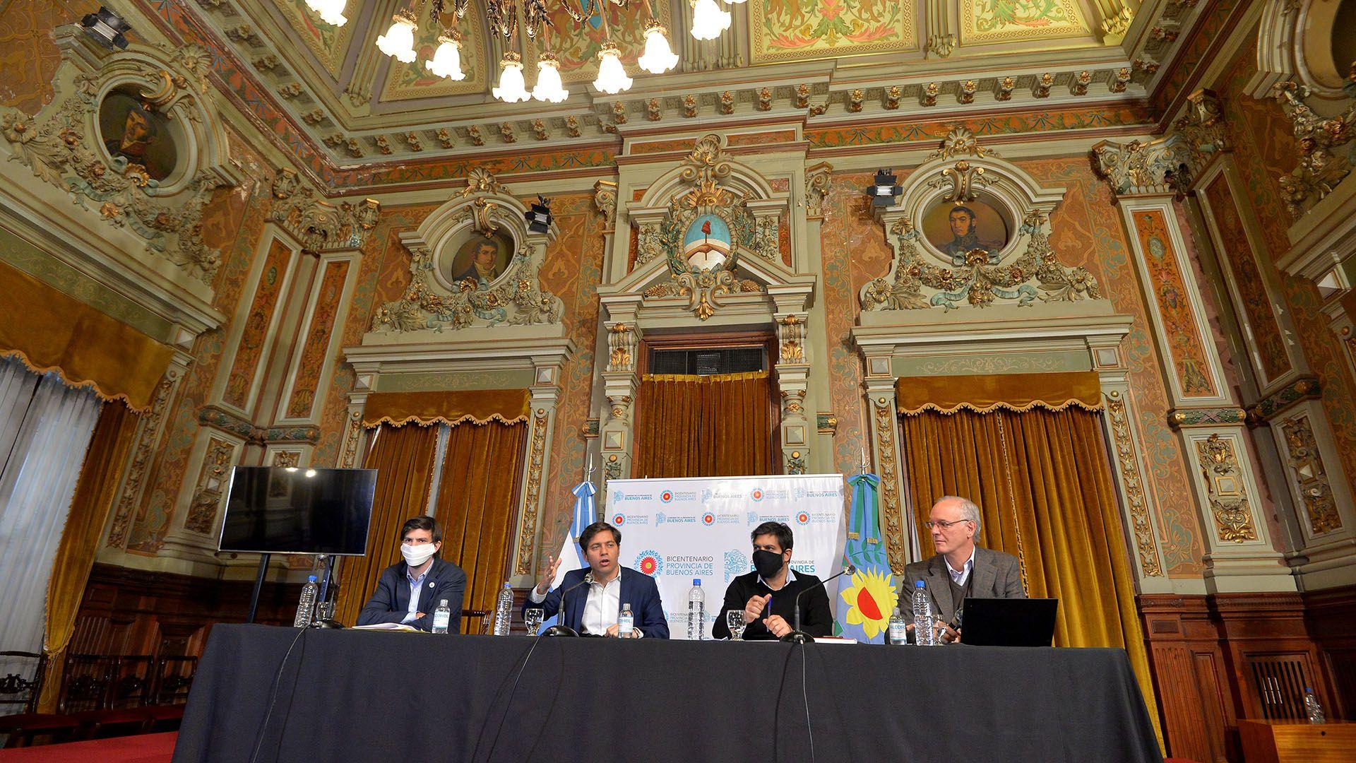 Conferencia de prensa Axel Kicillof