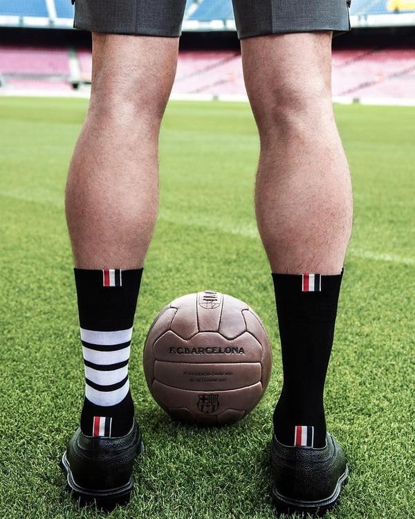 Los pantalones cortos, uno de los sellos de Thom Browne (Instagram: @thombrowneny)