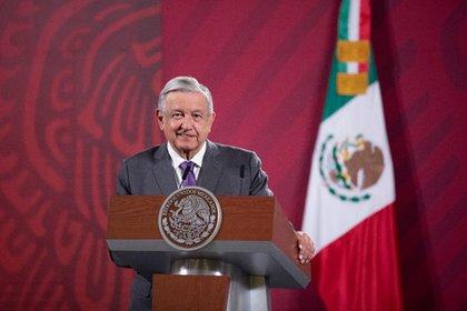 AMLO reiteró que su gobierno sólo protegerá a las empresas pública mexicanas, como CFE y Pemex (Foto: Presidencia de México)