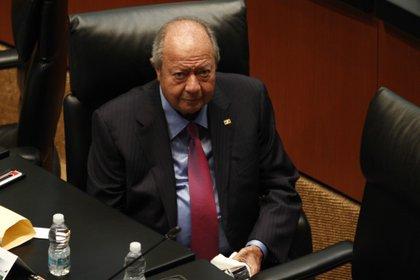 Carlos Romero Deschamps permaneció como líder del Sindicato Petrolero durante 26 años. Imagen de archivo. (FOTO: RODOLFO ANGULO /CUARTOSCURO)