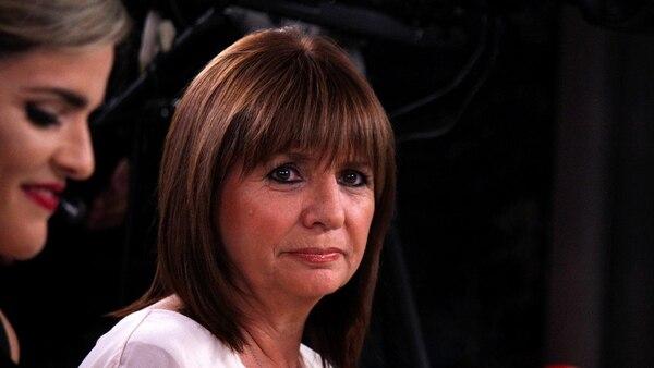 La ministro de Seguridad, Patricia Bullrich