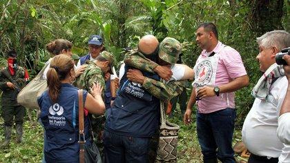 AFP PHOTO / DEFENSORIA DEL PUEBLO DE COLOMBIA 163