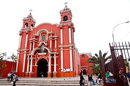El santuario de Santa Rosa de Lima