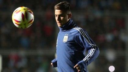 Paulo Dybala se perdió el encuentro ante Ecuador por un cuadro gastrointestinal (REUTERS/Agustin Marcarian)