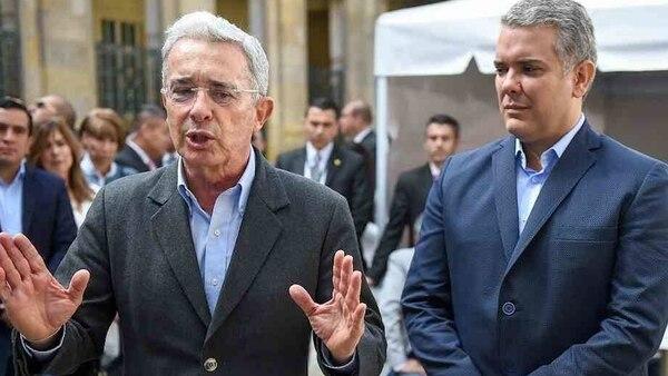 El ex presidente Álvaro Uribe Vélez es el mentor político de Duque