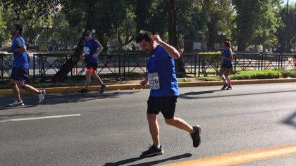Claudio Agurto murió durantela maratón