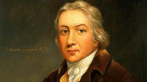 Edward Jenner, el descubridor  de la vacuna contra la viruela.
