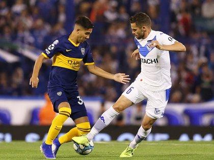 Boca y Vélez empataron sin goles en Liniers (Fotobaires)