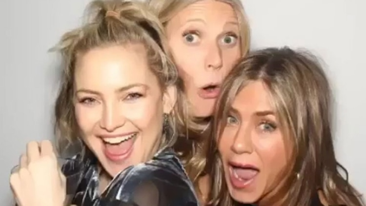 Jennifer Aniston con Kate Hudson y Gwyneth Paltrow
