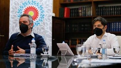 Andrés Larroque forma parte del gobierno bonaerense que conduce Axel Kicillof (NA)