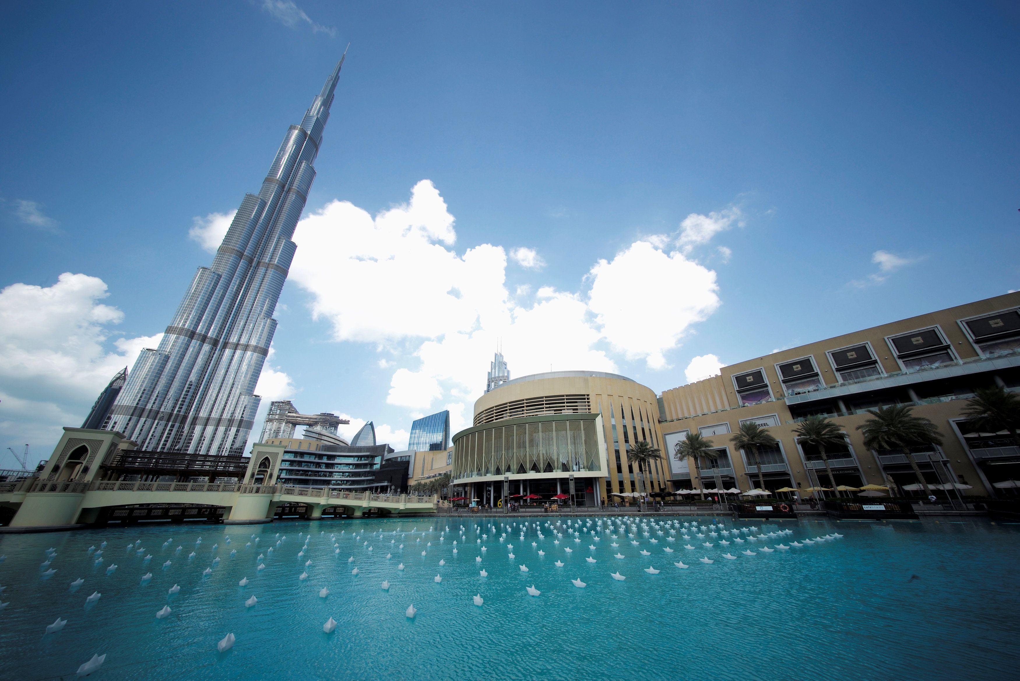 Vista general del edificio Burj Khalifa y Dubai Mall en Dubai, Emiratos Árabes Unidos (REUTERS/ Hamad I Mohammed)