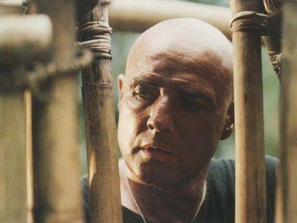 "Marlon Brando como Kurtz en ""Apocalypse Now"", la película de Coppola. (Zoetrope/United Artists/Kobal/Shutterstock)"