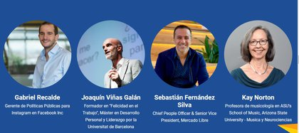 Oradores del Simposio Internacional en Neurociencias virtual de Ineco