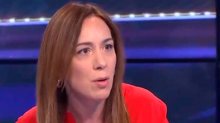 María Eugenia Vidal (captura video)