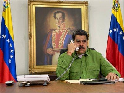 Nicolás Maduro, at the Miraflores Palace