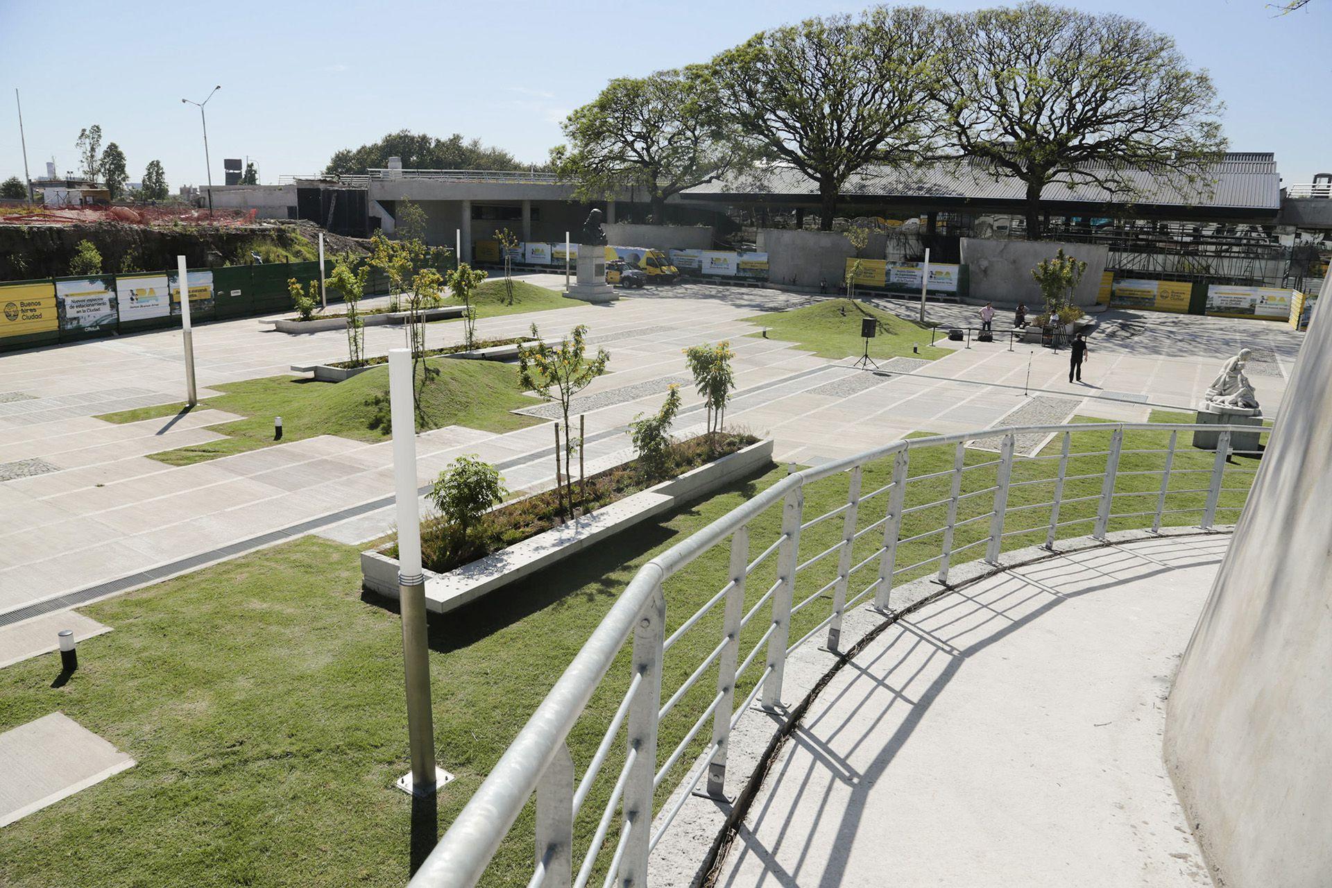 Cubierta Verde del Centro de Convenciones de la Ciudad, un espacio coptado por skaters