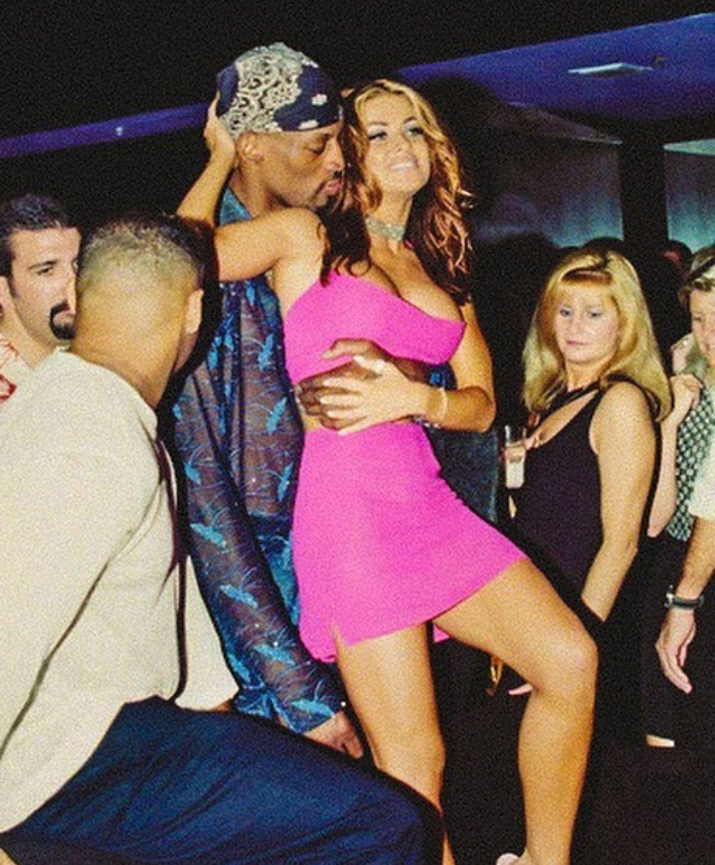 Carmen Electra con Rodman