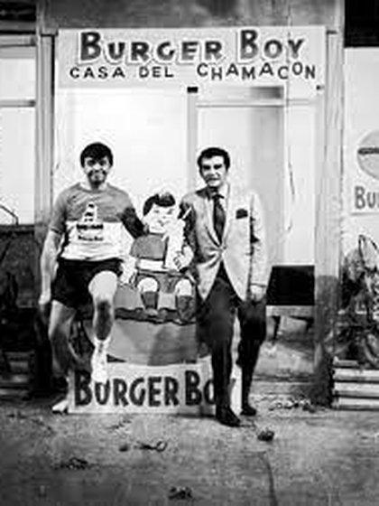 Grande figuras, como Chabelo, promocionaban sus alimentos. Foto. Tomada de Instagram