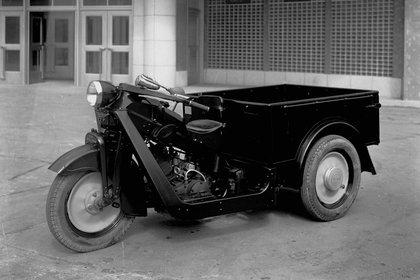 El Mazda-GO fue el primer vehículo de la marca. La empresa se había fundado para manufacturar corcho. (Mazda)