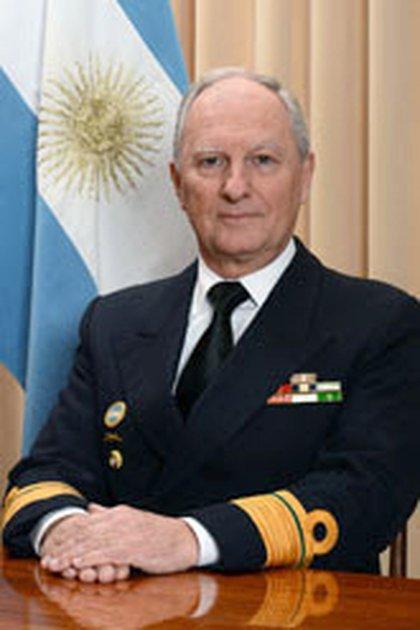 El Contraalmirante Auditor (RE) Raul A Lachnicht (Foto: Archivo Armada Argentina)