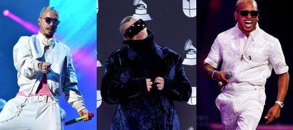 El colombiano J Balvin y los puertorriqueños Bad Bunny y Ozuna los favoritos en los Latin Grammy 2020 ( EFE)