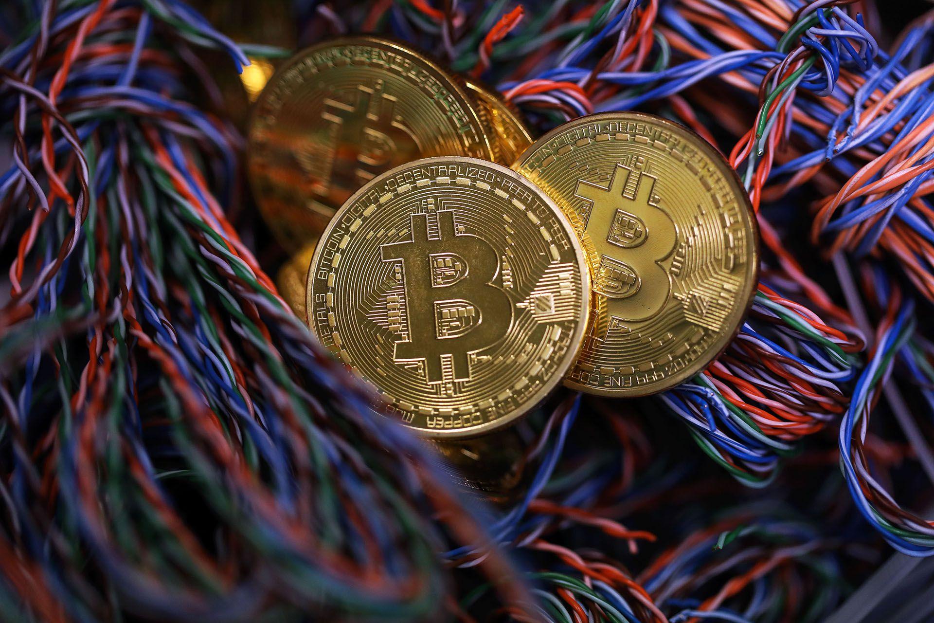 La cotización del Bitcoin, más allá de unos vaivenes, sigue creciendo (Chris Ratcliffe/Bloomberg)