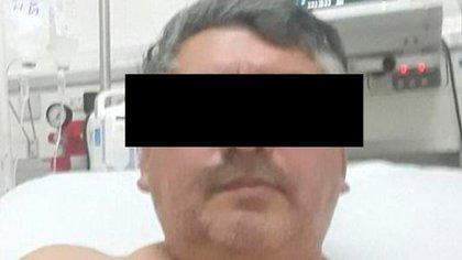 """El """"paciente 41"""" en el hospital"""