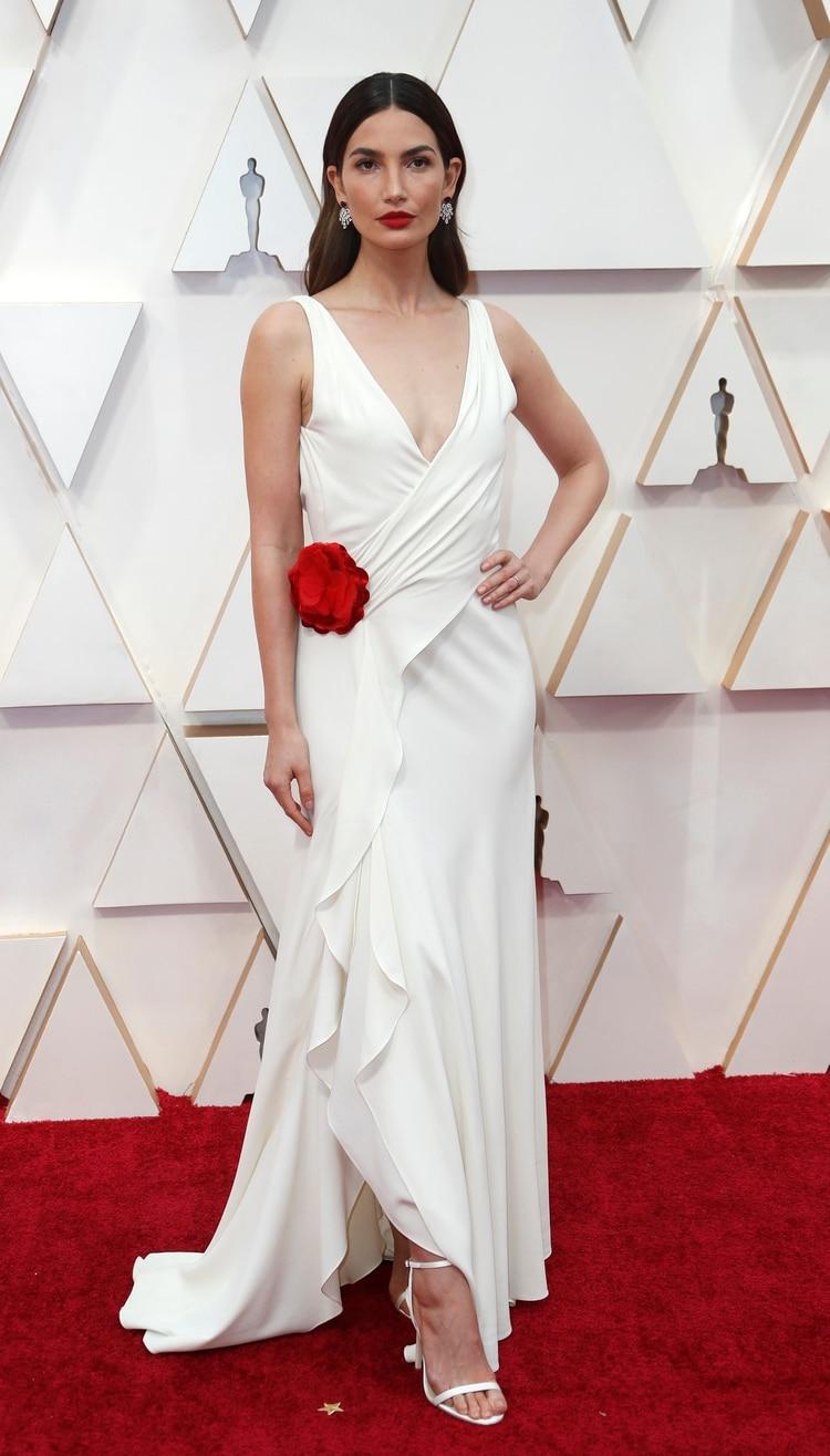 Para Laura Malpeli de Jordaan, Lily Aldridge by Ralph Lauren fue una de las mejores vestidas de la noche.