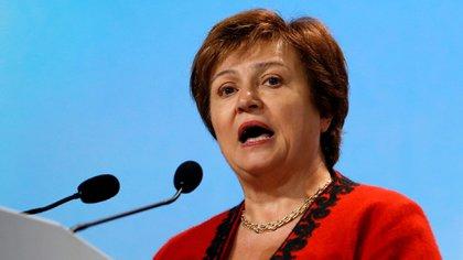 Georgieva asumió en septiembre el cargo dejado por Christine Lagarde (Reuters)