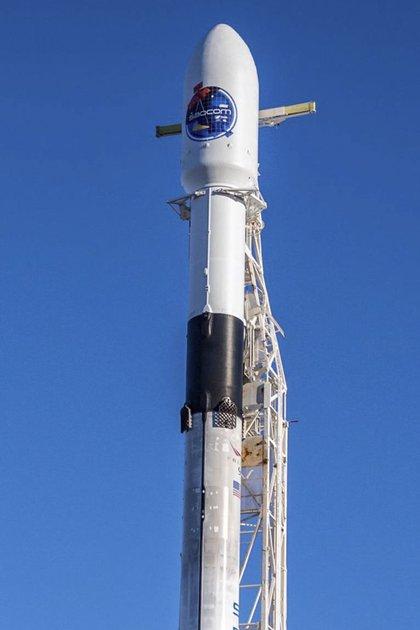 El cohete Falcon 9 será el encargado de lanzar el satélite argentino