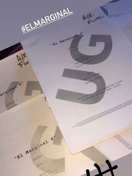Los guiones de El Marginal 4
