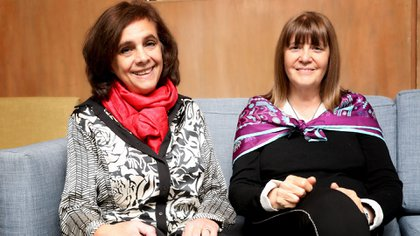 Maria Shua y Perla Suez (Mario Sar)