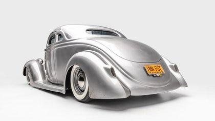 Es un Óvalo pero tiene elementos de Chevrolet, como la dirección. (Museo Petersen)