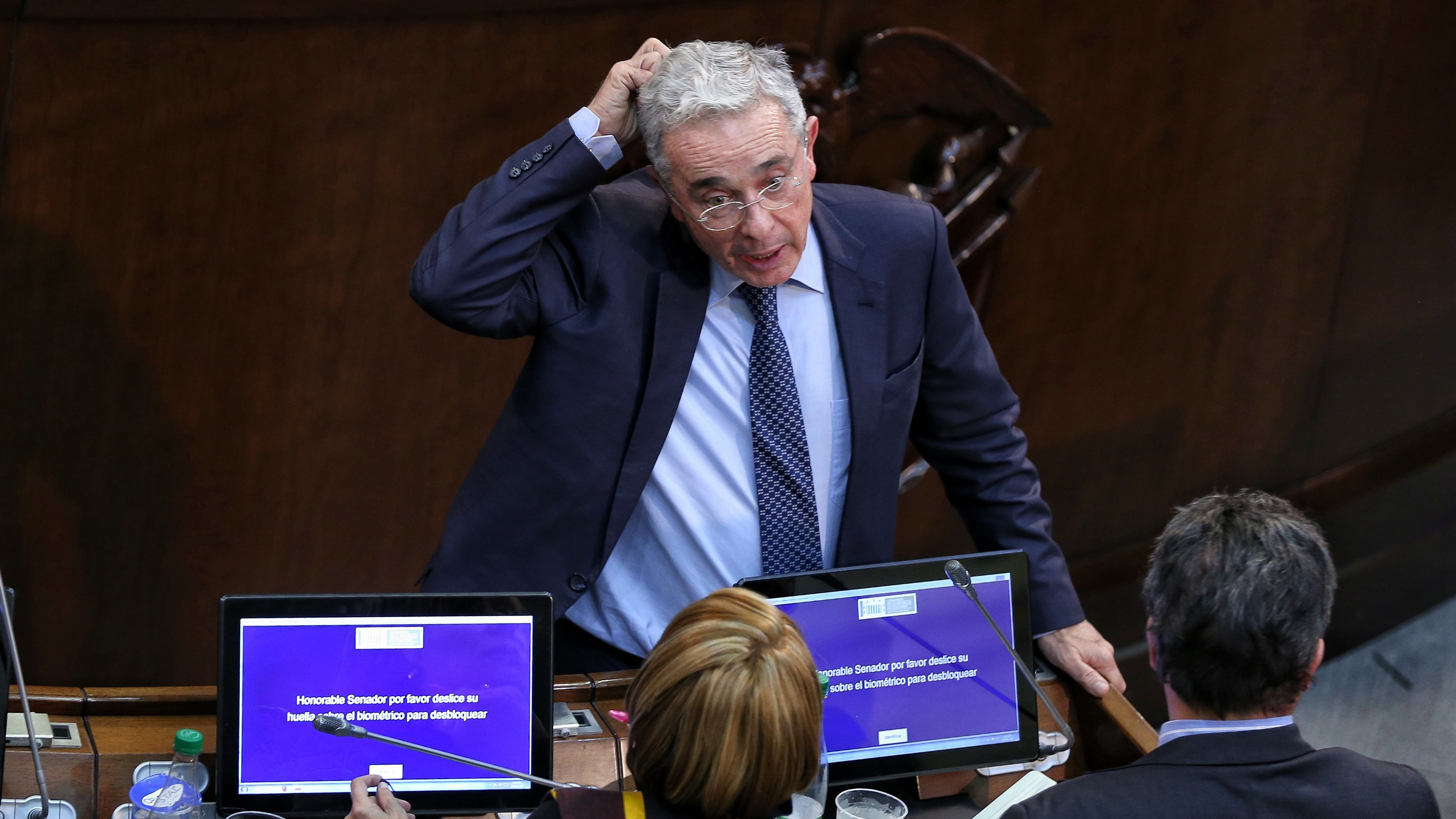 Álvaro Uribe Vélex, expresidente de Colombia. Foto: Colprensa.