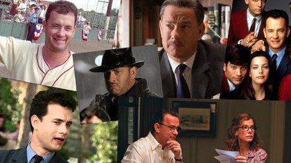 Tom Hanks, en varias de sus películas