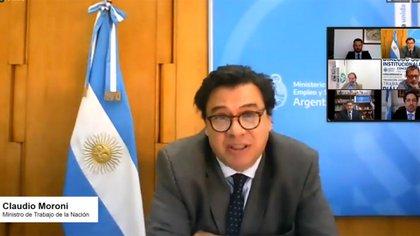 Claudio Moroni - Ministro de Trabajo de la Nación