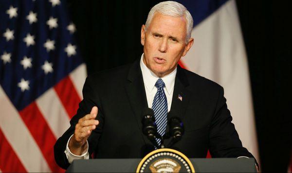 """El vicepresidente de Estados Unidos, sobre Venezuela: """"Los niños están muriendo de hambre"""""""