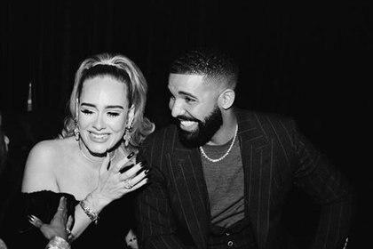 Adele junto con Drake