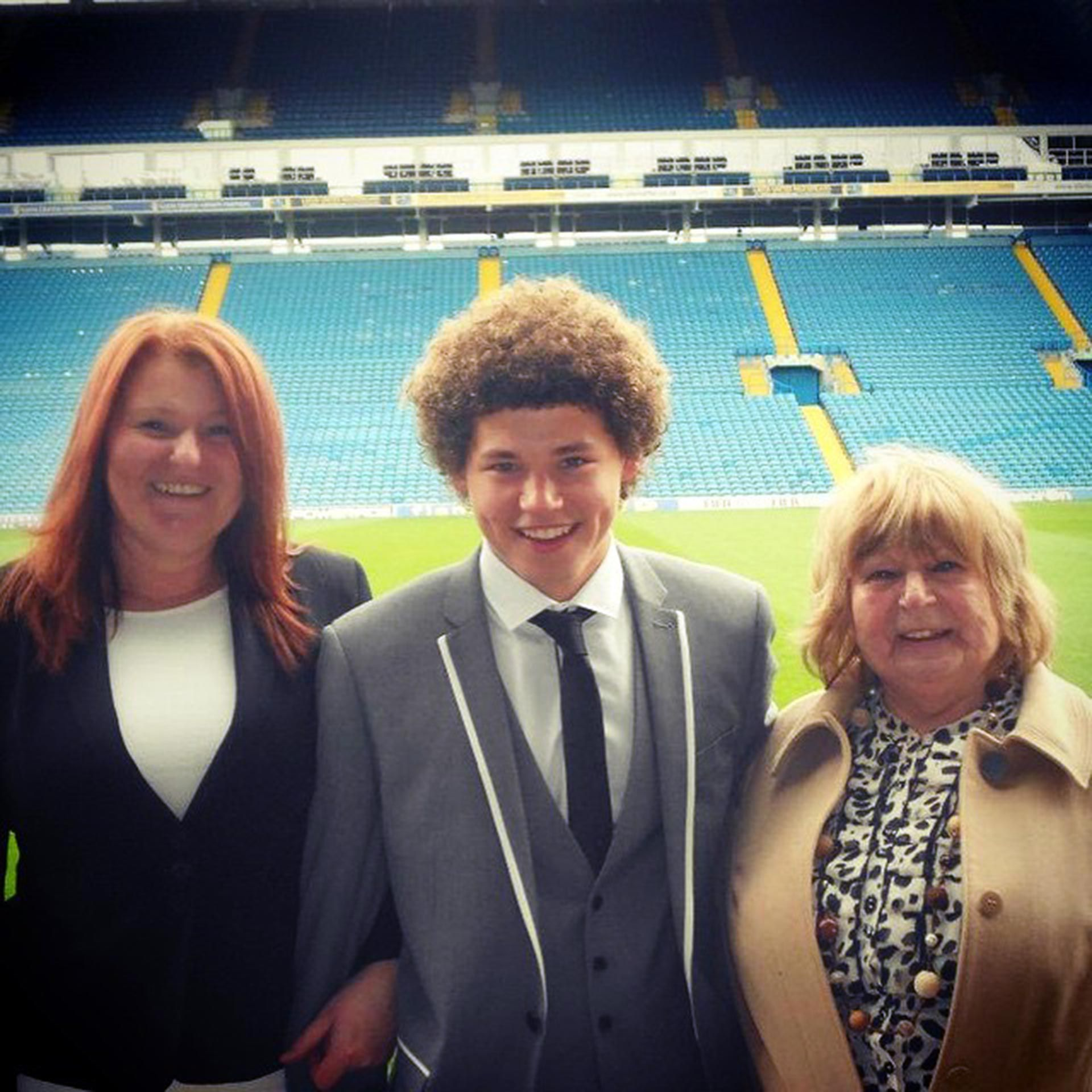 Kalvin Phillips niño